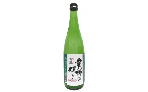 [№5734-0070]純米吟醸酒 愛郷の輝き(720ml)