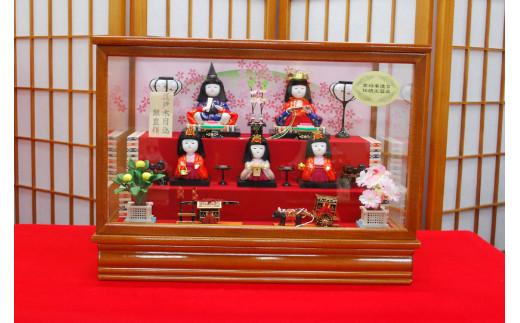 AAX-169 木目込み人形5人飾り