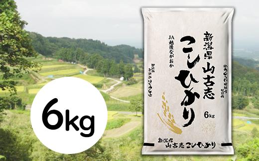 新潟県長岡産コシヒカリ山古志地域棚田米6kg