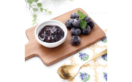 ※冷凍ブルーベリーの料理例です。冷凍ブルーベリー以外は附属しておりません。