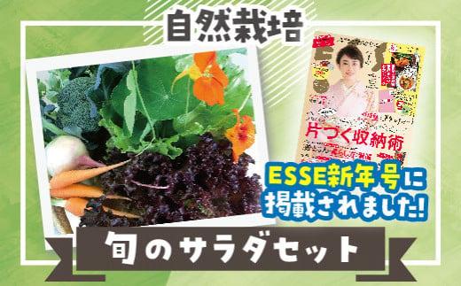 26.自然栽培 旬のサラダセット