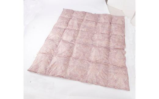 【C-32】フィールサーモ生地人工羽毛掛布団シングルピンク