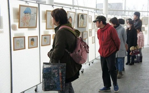 東日本大震災 写真・震災絵日記パネル展
