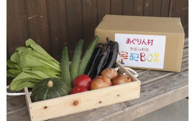 あぐりん村の新鮮野菜宅配BOX 常温配送期間