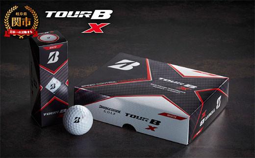 TOUR B X ホワイト 1ダース  (ゴルフボール) T18-03
