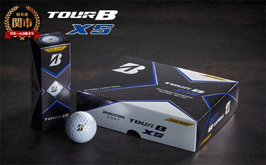 TOUR B XS ゴルフボール パールホワイト 1ダース (ゴルフボール) T18-06
