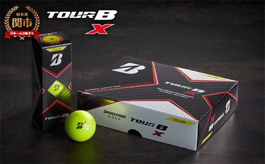 TOUR B X イエロー 1ダース (ゴルフボール) T18-05