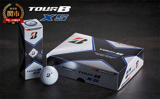 TOUR B XS ホワイト コーポレートカラー 1ダース (ゴルフボール) T18-10