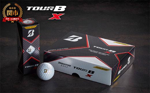TOUR B X パールホワイト 1ダース (ゴルフボール) T18-04