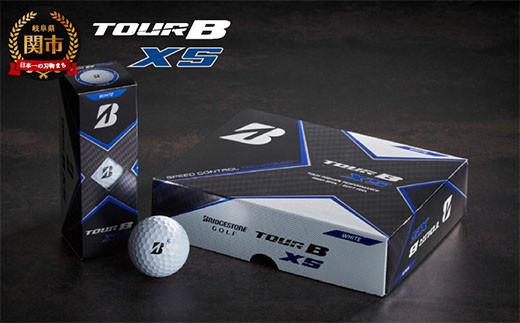 TOUR B XS ホワイト 1ダース (ゴルフボール) T18-02