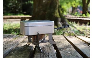 安定感抜群のメスティン専用調理台 M8ストーブ