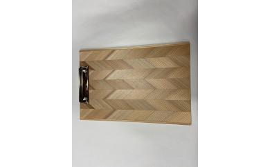 木のバインダーA4 クリップボード(縦)