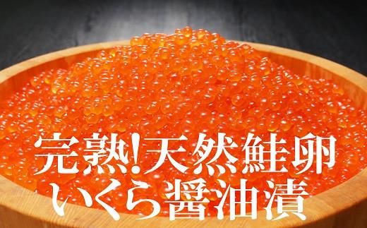 完熟!天然鮭卵いくら醤油漬510g!(約255g×2P)家族で贅沢に!(60004)