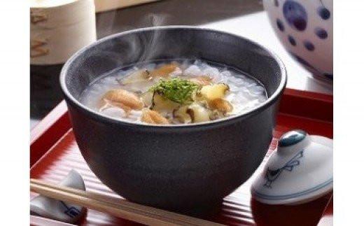 4回目:湯せんだけでできるぞうすいセット。賞味期限も長く非常食にもなります。