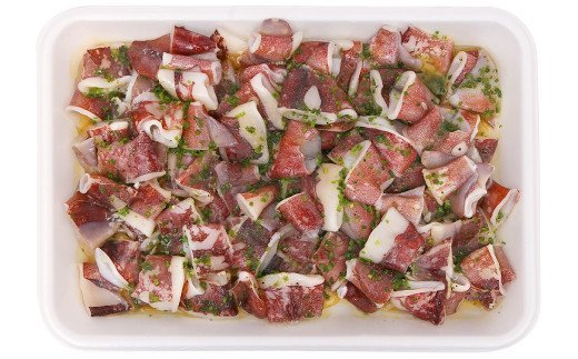 海鮮鉄板焼きシリーズ やりイカ ネギ塩 鉄板焼き 約1kg イカ 惣菜