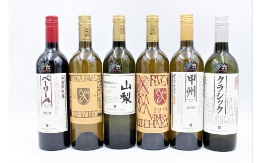 H-651.勝沼醸造ワイン6本セット【勝沼ぶどうの丘セレクト】