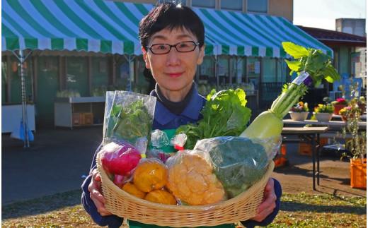 [№5672-0374]厳選・「おおばん市場」旬の野菜詰め合わせ