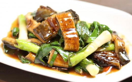 滋養強壮の代名詞のウナギとニンニク。ニンニクの中でもビタミンA,Cや水溶性食物繊維が豊富な葉ニンニク付きの最強スタミナセットです