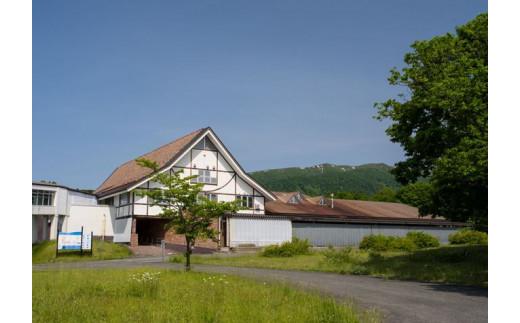 西和賀町の沢内醸造所。岩手県内でも特に雪の多い豪雪地帯です