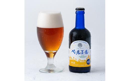 「ペールエール」はフルーティなホップの香りと、カラメルモルトのコクと甘み、軽い苦みが特徴の琥珀色のビールです
