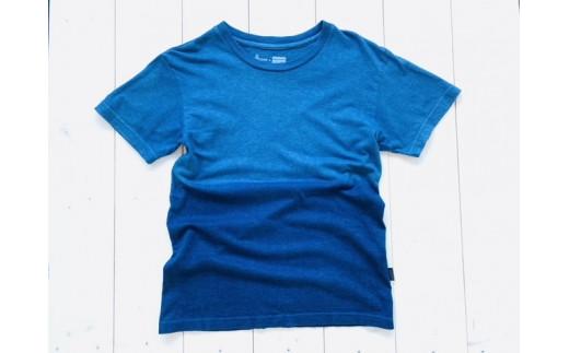 IBB24 空海藍オーガニックヘンプコットンTシャツ(男女兼用)