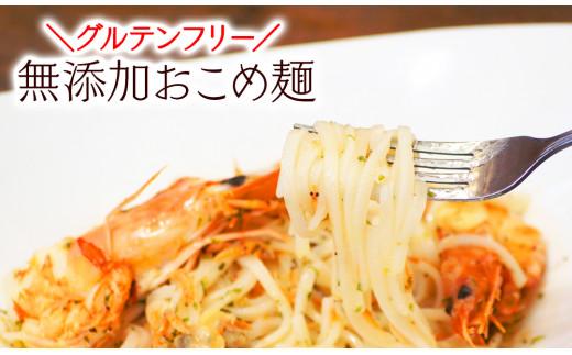 【お中元用】【グルテンフリー】無添加おこめ麺 100g×6袋(AA030)