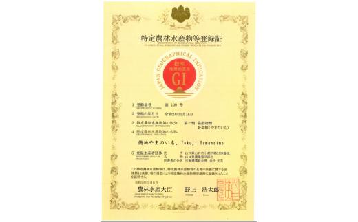 令和2年11月にGI登録されました!