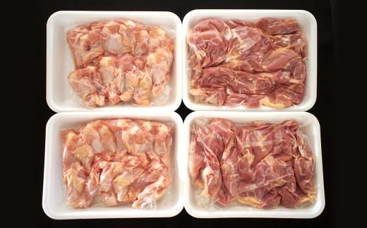 熊本県産 大阿蘇どり モモ 手羽元 4kg セット 鶏肉 モモ肉