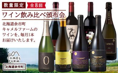 数量限定☆キャメルファーム ワイン飲み比べ頒布会《全8回》