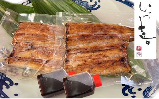 国産うなぎの蒲焼2尾(2パック)≪特製だれ・山椒付き≫