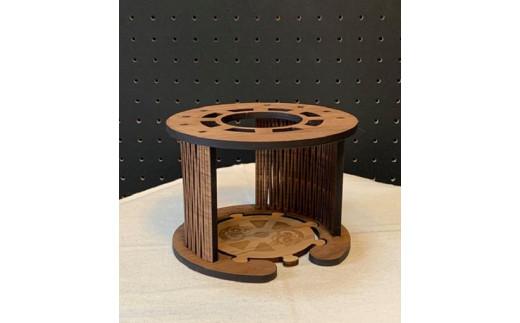 ドリッパーホルダーとコースター 台座部分はコースターとしてお使いできます