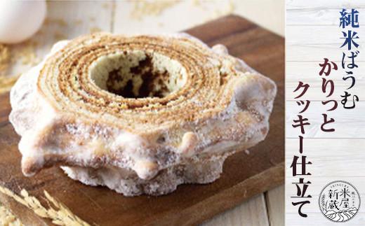 カリッとした歯ごたえのクッキー風味と、もっちり食感が楽しい本格的な焼き菓子です。