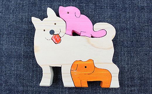 犬のパズル