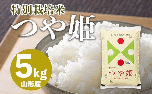 FY20-781 つや姫 5kg【特別栽培米】