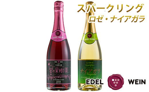 4202 エーデルワイン スパークリングワイン2本セット