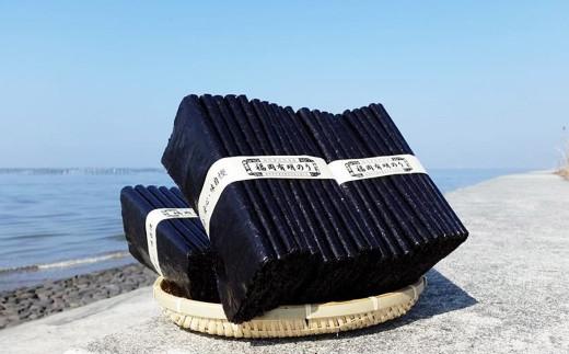 有明海産 初摘み 海苔 「のりさん」 (全形 10枚) × 3袋セット