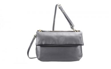 豊岡鞄 TUTUMU Leather Pair poshitte (S1900 24-161)グレー