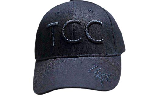 [№5900-0219]福永祐一騎手×TCCコラボ限定チャリティキャップ黒黒+TCCセラピーパーク見学体験ツアー