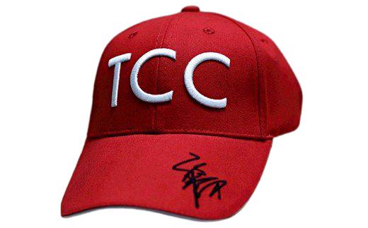 [№5900-0217]福永祐一騎手×TCCコラボ限定チャリティキャップ赤+TCCセラピーパーク見学体験ツアー
