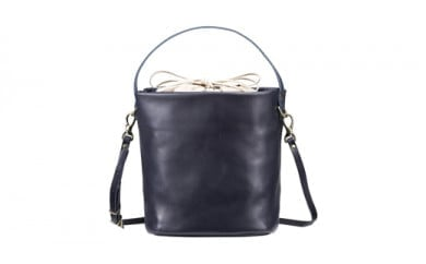 豊岡鞄 TUTUMU Leather cubu (S2800 24-176)ネイビー