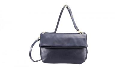豊岡鞄 TUTUMU Leather Pair poshitte (S1900 24-161)ネイビー