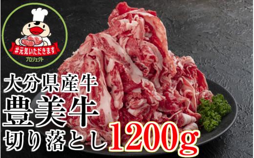 【期間限定】大分県産牛(豊美牛)切り落とし1200g