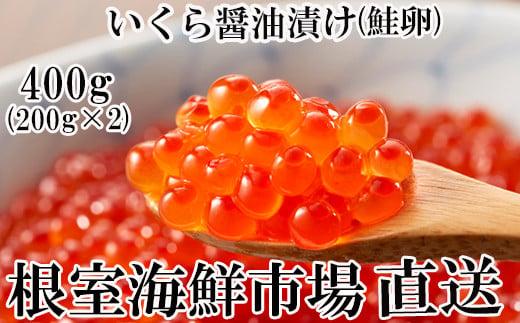 A-11101 いくら醤油漬け(鮭卵)200g×2P(計400g)