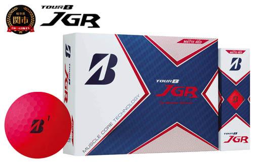 TOUR B JGR マットレッド 1ダース (ゴルフボール) T15-06