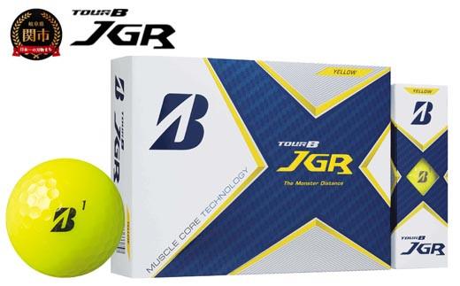 TOUR B JGR イエロー 1ダース (ゴルフボール) T15-02
