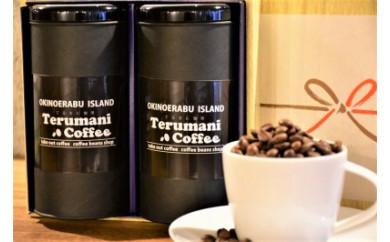 自家焙煎【てるまに珈琲】スペシャルブレンドコーヒー&珈琲花茶ギフトセット<粉>