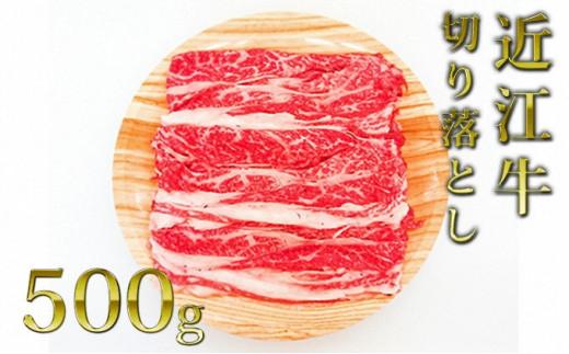 [№5900-0269]近江牛切り落とし(薄切り)500g