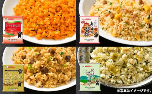 No.143 熊本県産こだわり炒飯バラエティセットB 230g×10 / 冷凍食品 米飯 チャーハン 熊本県 特産品