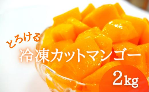 冷凍カットマンゴー《計2キロ(500g×4袋)》【2021年7月発送】
