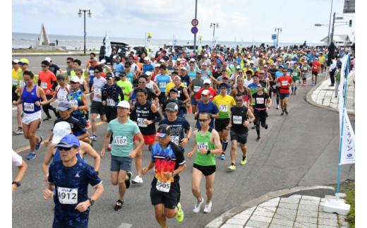 日本最北端わっかない平和マラソン大会出場申込券【23001】